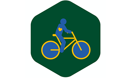 À bicyclette par amour filial
