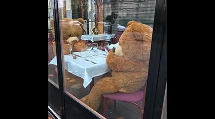 Épouvantail à ours